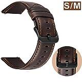 Bracelet 22mm Cuir compatible pour Samsung Galaxy Watch 46mm/ Gear S3 Frontier...