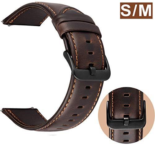 Correa Reloj 22mm Cuero compatible Samsung Galaxy