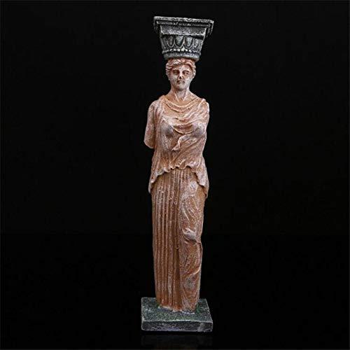 Fine-X Resina Estatua de la Diosa Griega Estatuas artesanales for la decoración Talla del Arte Decoración del hogar Decoración del Acuario Figuras Escultura Regalo