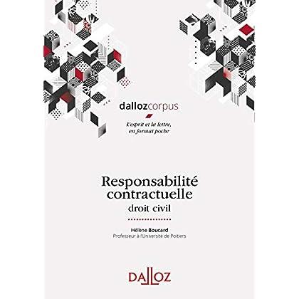 Responsabilité contractuelle - Nouveauté