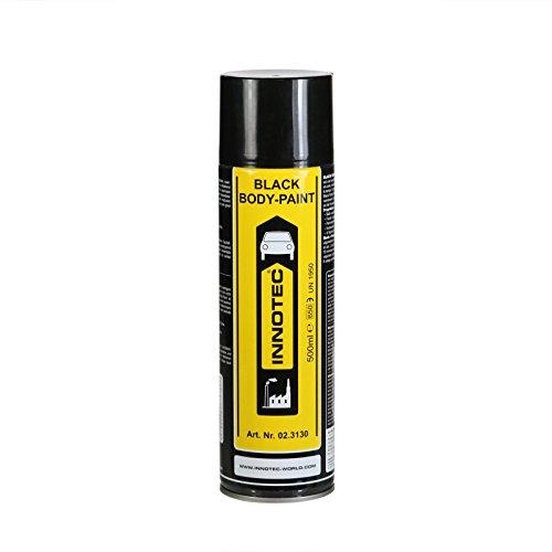 Innotec Black Body Paint, schwarz, 500 ml Spraydose