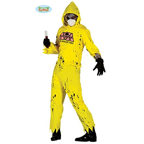 �m für Herren Gr. M/L, Größe:L (Zombie Anzug Kostüme)