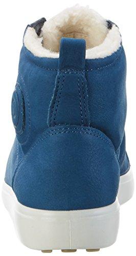 Ecco Soft 7, Sneakers Basses Femme Blau (2269POSEIDON)
