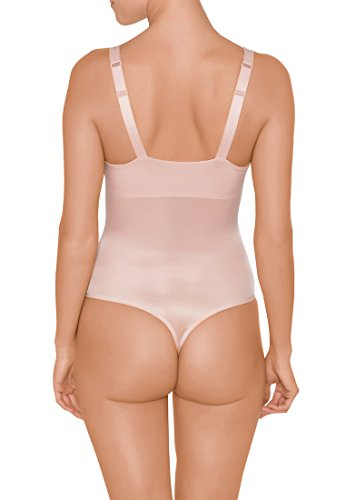 Wolford Damen Sheer Touch Forming String Body rosepowder