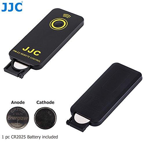 JJC Infrarrojos Disparador Inalámbrico para Nikon Réflex Digital y Coolpix Cámara Reemplazo de Nikon ML-L3 [Ver Descripción para Compatibilidad Cámaras]