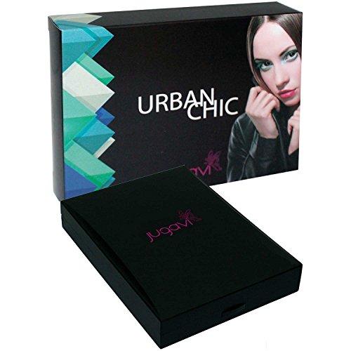 Jugavi Geschenkkarton Geschenkbox Schminkkarton Urban Chic Schminkpalette