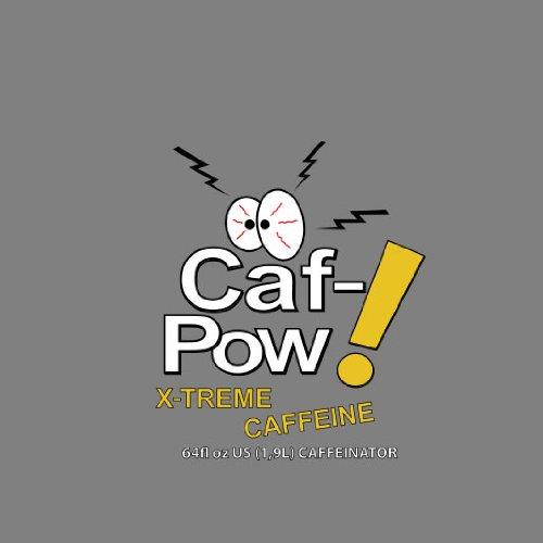 Caf-Pow X-Treme Caffeine - Herren T-Shirt Grau