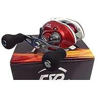 ZQ Super Casting basso profilo 12+ 1BB Baitcasting Bobina di pesca (Red)