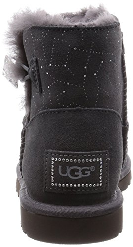 Ugg Australia Mini Bailey Button Bling Constellation, Femme Grise