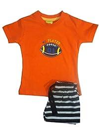 shaishav wears Baby Boy's Cotton Outfits & Clothing Set