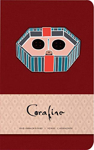 Coraline Hardcover Ruled Pocket Journal por Insight Editions