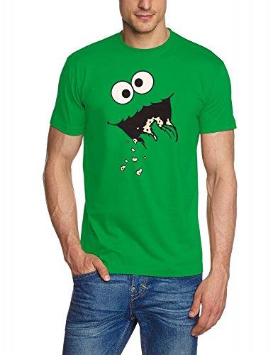 Kekse ! COOKIE MONSTER T-Shirt, green GR.L