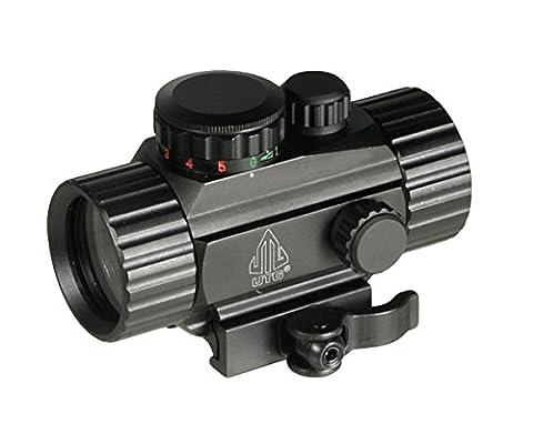 UTG Leuchtpunktvisier 4 Zoll Compact Ita Rot/Gün Circle Dot Sight