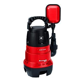 Einhell Schmutzwasserpumpe GC-DP 3730 (370 W, max. 9000 l/h, Fremdkörper bis 30 mm, max. Förderhöhe 5 m, stufenlos einstellbarer Schwimmerschalter)