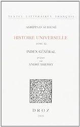 Histoire universelle : index des dix volumes