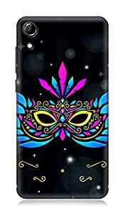 HTC Desire 728 3Dimensional High Quality Designer Back Cover by 7C