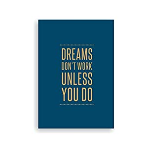 Dreams don't work notebook
