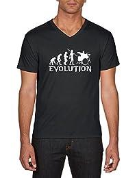 Touchlines Evolution Drummer, T-Shirt Homme