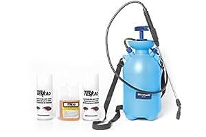 Pack complet anti puces / punaises avec pulvérisateur 5l pack de traitement anti puces et punaises- Teskad