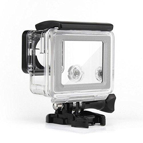 Werse Ersatz Wasserdichte Touchscreen Backdoor Fall Abdeckung für GoPro Hero 4 Silber Edition Action Sport Kamera -