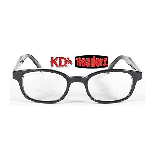 KDS Brille kd' S Sonnenbrille für presbytes-readerz Clear Biker Korrektur + 2,50