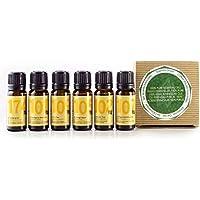 Naissance 100% reine ätherische Öle Geschenkset - Top 6 ätherische Öle - Lavendel, Orange süß, Lemongras, Minze... preisvergleich bei billige-tabletten.eu