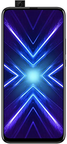 HONOR 9X Phantom Black - Smartphone Bundle (6,59 Zoll Display, 128 + 4 GB) + 48MP AI Triple-Kamera + 16MP Pop-up Frontkamera + gratis HONOR Classic Earphones [Exklusiv bei Amazon] - Deutsche Version