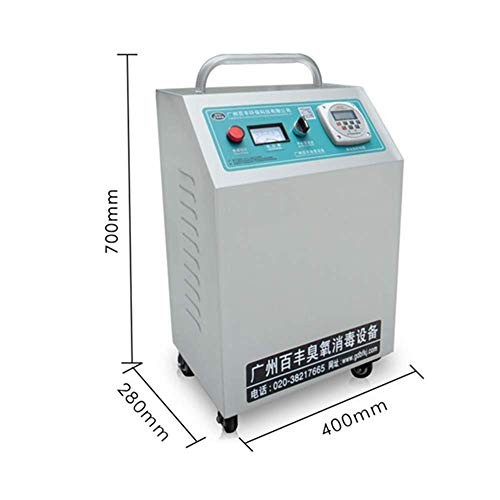 41jfQVUtKIL. SS500  - GXHGRASS Commercial Ozone Generator, 15000Mg/ Industrial O3 Air Purifier Deodorizer Sterilizer, Two Kinds of Timers,Light Grey