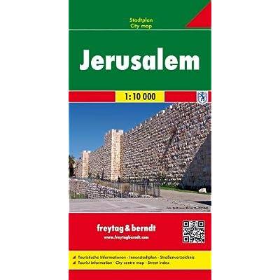 Gerusalemme 1:10.000: Stadskaart 1:10 000