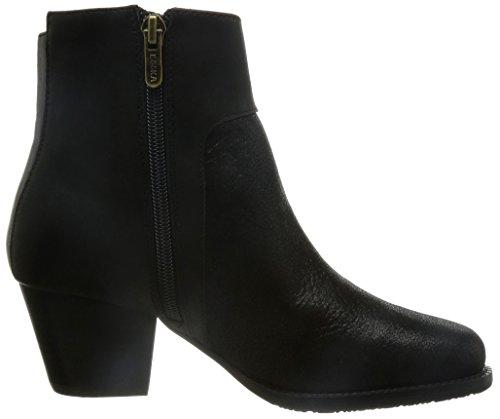 Esska Jet Damen Stiefel & Stiefeletten Schwarz - Schwarz (Black)