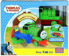 Thomas & Friends - DPJ21. Mega Blocks Percy.
