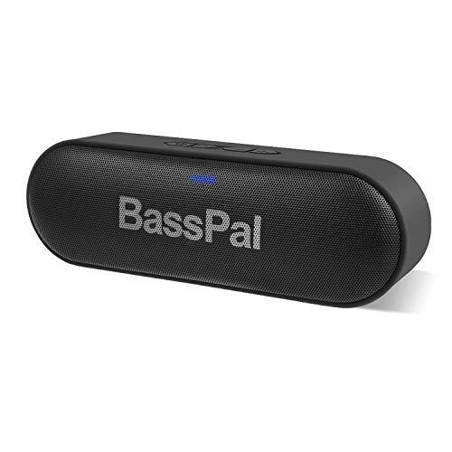 BassPal SoundRoSoundRo les haut-parleurs Bluetooth dual drivers délivrent des basses profondes remarquables, un son puissant et incroyable, un temps de jeu étonnant et un son ultra-portable incroyable qui se met à sonner dans n'importe quel enviro...