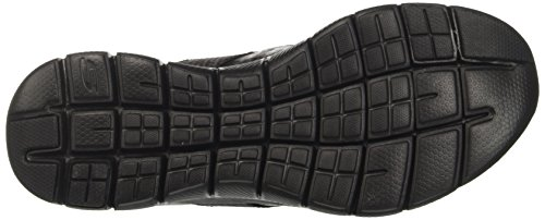 Skechers Damen Flex Appeal 2.0-Bright Eyed Ausbilder Schwarz (Black)