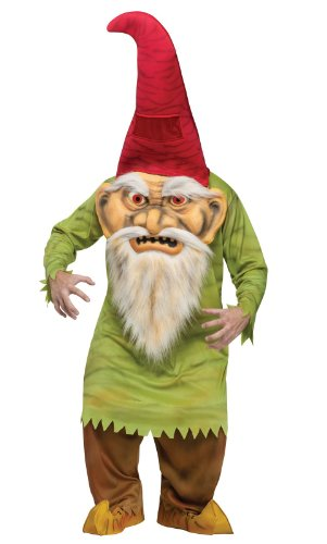 Fun World Big Head Evil GNOME Erwachsene Kostüm One ()