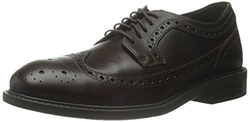 Dunham Men's Grayson-Dun Oxford Shoe, Brown, 43 2E EU