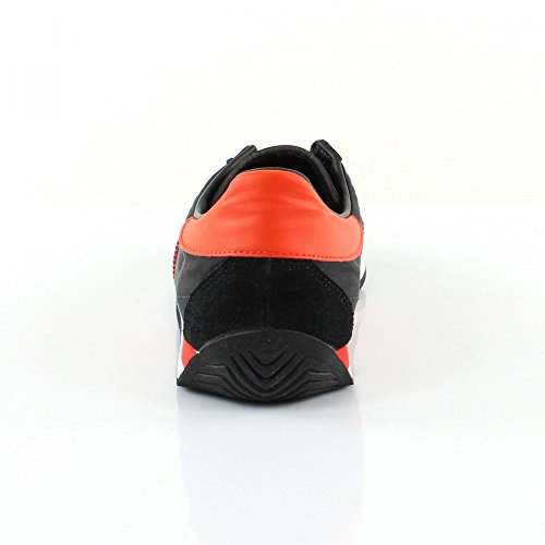 Scarpe Da Uomo Adidas Originali In Pelle Bassa Nera