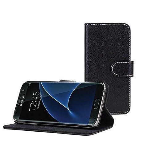 Coque Galaxy S7 Edge, Snugg Samsung Galaxy S7 Edge Etui