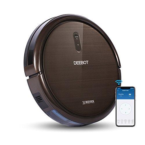ECOVACS DEEBOT N79S – Robot aspirador, Cntrol mediante, Smartphone App, Carga Automática, Adecuado para suelos duros y alfombras