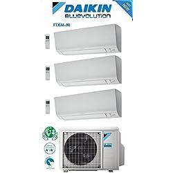 Daikin Bluevolution Climatiseur Trisplit 12000+12000+12000BTU/h Inverter avec pompe à chaleur gaz R32 A+++