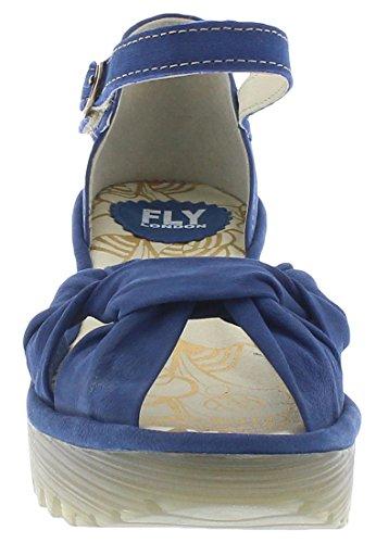 FLY LondonYoel629fly - Sandali Donna Nubuck Blu