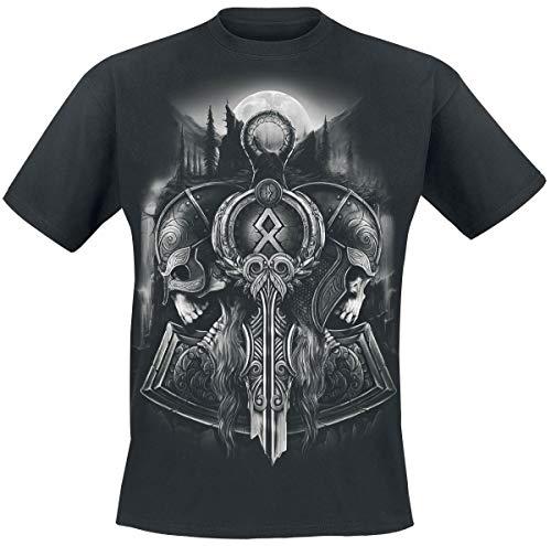 Toxic Angel Guardian of Midgard Camiseta Negro