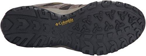Columbia Grand Canyon Outdry, Chaussures Bébé Marche Homme Multicolore - Multicolor (Cordovan/Antique Moss)