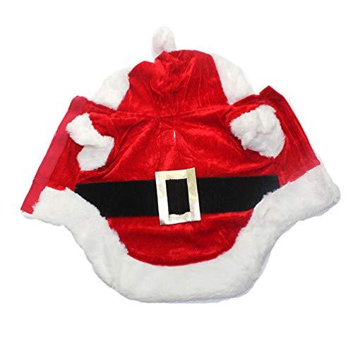 Kostüm Snoop Dog - Feidaeu Christmas Dog Clothes Santa Costume Chihuahua Coat Clothing Cute Pet Xmas Outfit für kleine Hund Hoodies