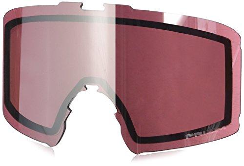 Oakley Line untergraben Unisex Erwachsene Skibrille , Rot