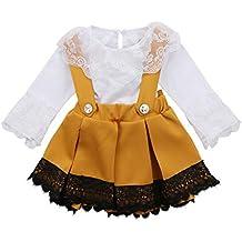 BHYDRY Conjunto de Traje de Traje de Falda de Fiesta de Princesa Fiesta de Falda de