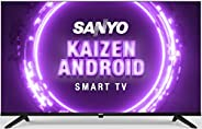 Sanyo 108 cm (43 inches) Kaizen Series Full HD Smart Certified Android IPS LED TV XT-43A170F (Black) (2019 Mod