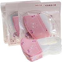 Packung mit 10 Kinder Nette Einweg 3D Gesichtsmaske Staubfilter Mund Abdeckung-Rosa preisvergleich bei billige-tabletten.eu