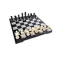 Magnetisches-Brettspiel-Standard-Gre-Schach-magnetische-Spielsteine-Spielbrett-zusammenklappbar-25cm-x-25cm-x-2cm-Mod-SC2677-DE Quantum Abacus Magnetisches Brettspiel (Premium Größe): Schach – magnetische Spielsteine, Spielbrett zusammenklappbar, 25cm x 25cm x 2cm, Mod. SC2677 (DE) -