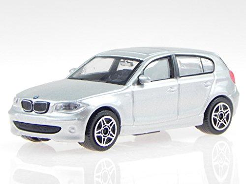 Preisvergleich Produktbild BMW e87 1er 120i silber Modellauto 30181 Bburago 1:43