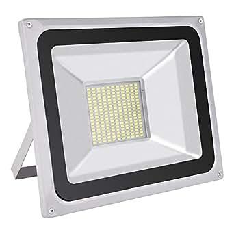 CSHITO IP65 10W / 20W / 30W / 50W / 100W / 150W / 200W / 300W LED Projecteur Lumière Floodlight - [Classe énergétique A++] - Blanc froid (6000K) - 4F